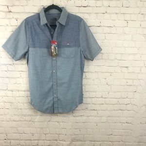 NWT Men's The North Face Button Down Size Small